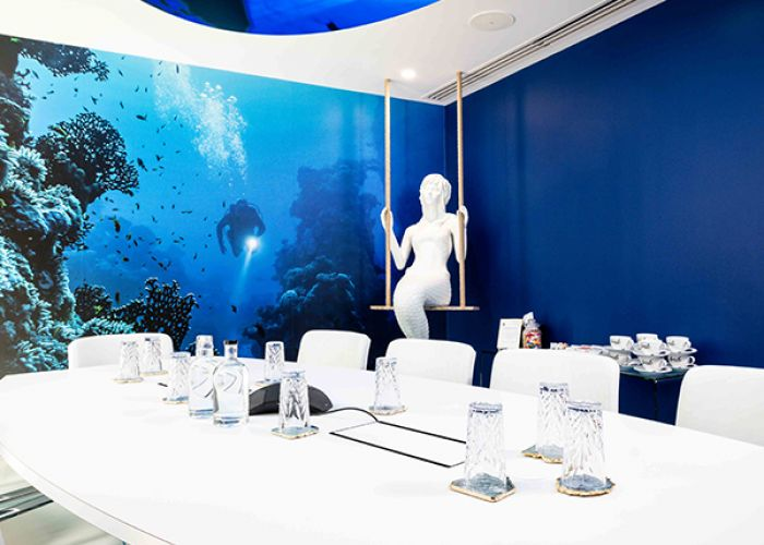 Meeting Rooms London Blackfriars Office space in Town - Under the sea