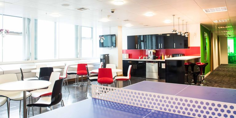 Serviced Offices London Euston Tower Office space in Town Kitchen