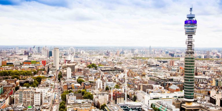 Serviced Offices London Euston Tower Office space in Town View