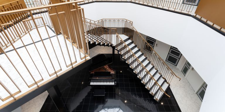 Serviced Offices London Mayfair Office Space in Town - Stairwell