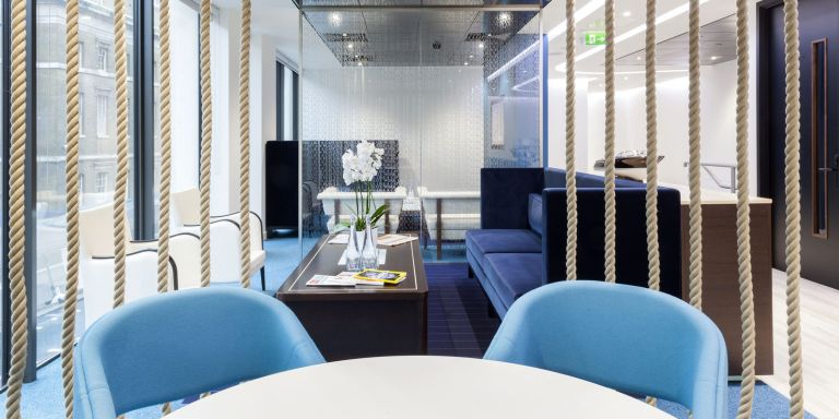 Serviced Offices London Monument Office space in Town Client Lounge