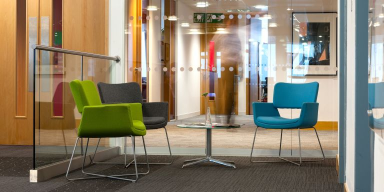Serviced Offices London Euston Tower Office space in Town Lounge